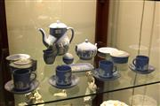 Sale 8304 - Lot 86 - Wedgewood Jasper Ware Coffee Set for 4 & Other Wares