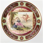 Sale 8412A - Lot 1 - Royal Vienna Plate diameter - 30cm