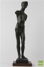 Sale 8533 - Lot 17 - Bronze Of a Nude Man