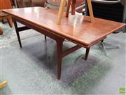 Sale 8585 - Lot 1053 - Danish Convertible Coffee Table / Dining Table