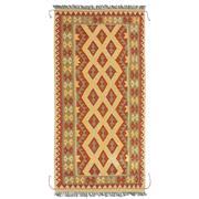 Sale 8830C - Lot 40 - An Afghan Nomadic Maymana Kelim in Handspun Wool 200x100 cm