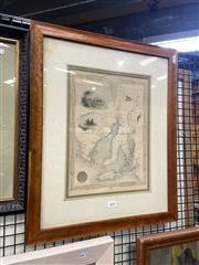 Sale 8895 - Lot 2040 - Print of a Map of South Australia, 56 x 46 cm