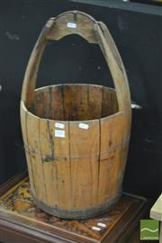 Sale 8289 - Lot 1008 - Timber Bucket