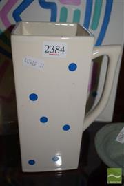 Sale 8445A - Lot 52 - One Litre Milk Ceramic Jug - height - 21cm