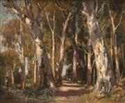Sale 8692 - Lot 548 - James Ranalph Jackson (1882 - 1975) - Through the Trees 37 x 44.5cm