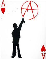 Sale 8720 - Lot 2021 - Mark Hanham (1978 - ) - Anarchy 45 x 35cm