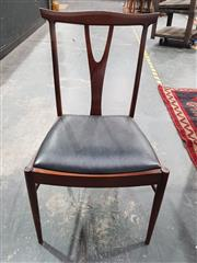 Sale 8765 - Lot 1075 - Very good set of 4 McIntosh Rosewood Wishbone Dining Chairs
