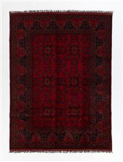 Sale 8760C - Lot 89 - An Afghan Khal Mohammadi 100%Wool Pile, 240 x 175cm