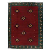 Sale 8830C - Lot 41 - A Persian Vintage Qashgai Kilim (rare size) in Handspun Wool 400x300 cm