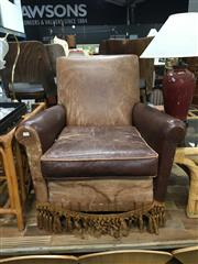 Sale 8851 - Lot 1081 - Vintage Leather Club Chair
