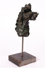 Sale 8994H - Lot 55 - Adam Cullen - Horse Head 2011 15 x 13 x 6cm