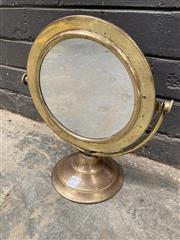 Sale 9051 - Lot 1090 - Metal Gentlemans Shaving Mirror (H36cm)
