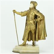 Sale 8342 - Lot 18 - Chryselephantine Figure of a Swordsman