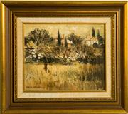 Sale 8418A - Lot 100 - Patrick Carroll - Winter Impression Blackheath 23 x 29cm