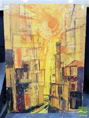 Sale 8491 - Lot 2032 - C.A. Blake - Concrete Jungle 71 x 51cm