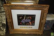Sale 8497 - Lot 2059 - Two Large Gilt Frames