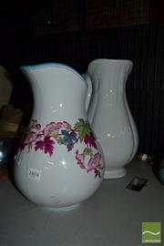 Sale 8518 - Lot 2346 - Pair of Ceramic Jugs incl Ironstone