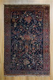 Sale 8559C - Lot 33 - Antique Persian Shiraz 200cm x 128cm