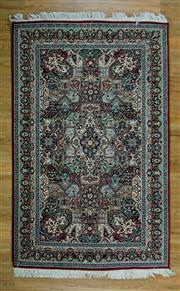 Sale 8665C - Lot 8 - Double Knot pak Kerman 227cm x 142cm
