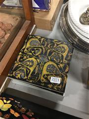 Sale 8701 - Lot 18 - Set Of Four Danish Tiles