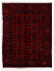 Sale 8760C - Lot 95 - An Afghan Khal Mohammadi 100%Wool Pile, 236 x 178cm