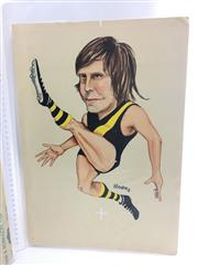 Sale 8863S - Lot 12 - Royce Hart, Richmond. Hart played 187 games for Richmond, scoring 369 goals for them between 1967 and 1977. Captain of Richmond from...