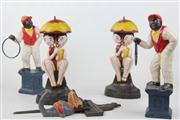 Sale 8477 - Lot 64 - Cast Iron Figurines
