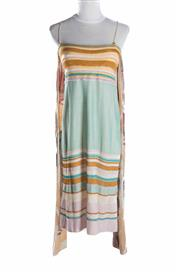 Sale 8493A - Lot 71 - A classic Missoni spaghetti strap dress, lined, with optional scarf/tie, size EU 44