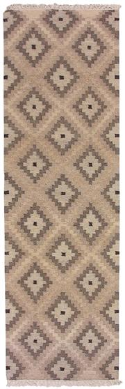 Sale 8725C - Lot 80 - An Indian Flatweave Runner, Hand-knotted Wool, 250x80cm, RRP $850