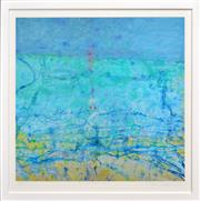 Sale 8316 - Lot 535 - John Olsen (1928 - ) - Rose Fingered Dawn - Bondi 77 x 82cm