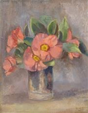 Sale 8519 - Lot 574 - Roland Wakelin (1887 - 1971) - Still Life, 1945 36 x 28.5cm
