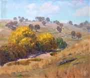 Sale 8583 - Lot 589 - Warwick Fuller (1948 - ) - Crudine Hills, 1979 90.5 x 105cm