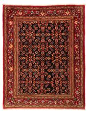 Sale 8715C - Lot 123 - A Persian Hamadan Classed As Village Rugs, Wool On Cotton Foundation, 202 x 165cm