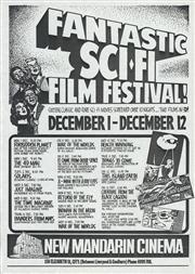 Sale 8766A - Lot 5019 - Fantastic Sci-Fi Film Festival! - screenprint