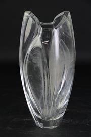 Sale 8877 - Lot 59 - Baccarat Crystal Vase (H22.5cm)