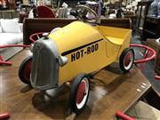 Sale 8893 - Lot 1031 - Yellow Pedal Car