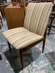 Sale 9002 - Lot 1053 - Good set of 6 Vintage Parker Dining Chairs (h:83 x w:52cm)