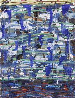 Sale 9195 - Lot 529 - MICHAEL JOHNSON (1938 - ) - Untitled, 1996 76 x 56.5 cm (frame: 107 x 84 x 3 cm)