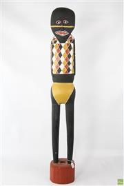 Sale 8620 - Lot 1022 - Artist Unknown - Figure h.97cm