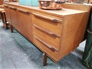 Sale 8741 - Lot 1002 - Quality 1960s Teak Sideboard