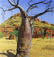 Sale 8787A - Lot 5047 - David Rose (1936 - 2006) - Baobab near Kununurra 1988 60 x 56cm
