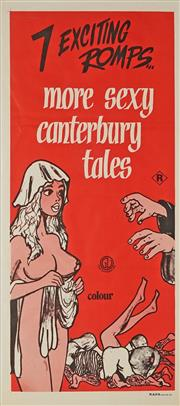 Sale 8822A - Lot 5120 - 7 Exciting Romps...more sexy canterbury tales - 76 x 34.5cm