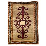 Sale 8830C - Lot 45 - A Persian Vintage Tribal Gabbeh in Handspun Wool 168x117 cm