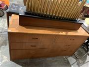 Sale 9002 - Lot 1069 - Vintage Parker Sideboard (h:66 x w:136 x d:45cm)