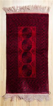 Sale 8559C - Lot 37 - Afghan Qunduzi 200cm x 130cm