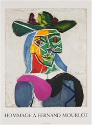Sale 8794A - Lot 5094 - After Pablo Picasso (1881 - 1973) - Hommage a Fernand Mourlot, 1990 75 x 55cm