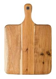 Sale 8795B - Lot 38 - Laguiole Louis Thiers Wooden Serving Board w Handle, 39 x 26cm