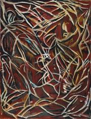 Sale 8847 - Lot 515 - Marion Borgelt (1954 - ) - Forest of earthly desires, 1984 198 x 152cm