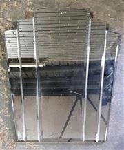 Sale 8962 - Lot 1002 - Fan Form Art Deco Style Mirror (H:91 x W:81cm)