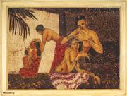 Sale 9091 - Lot 2080 - Jerry Liew (1948 - ) - Ladies Grooming, 1967 78 x 106 cm (frame: 91 x 120 x 3 cm)